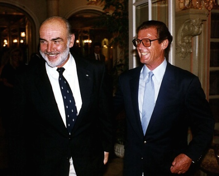 Roger Moore Sean Connery Archives